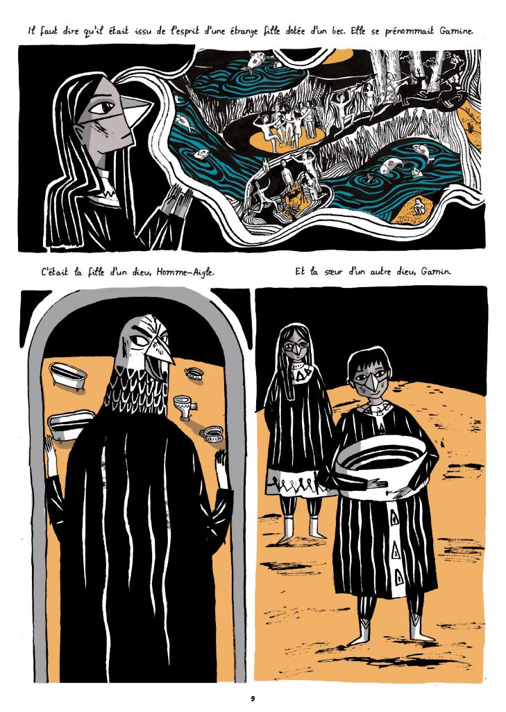 Les Cent Nuits De Hro Isabel Greenberg Benzine Magazine