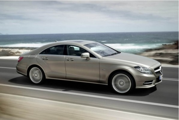 new cls 597x399 Mercedes Announces Engine Range For New CLS