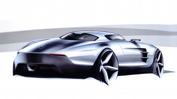 mercedes baby sls sportscar coming 39334 1 597x336 Baby SLS In The Works, To Be Birthed In 2014