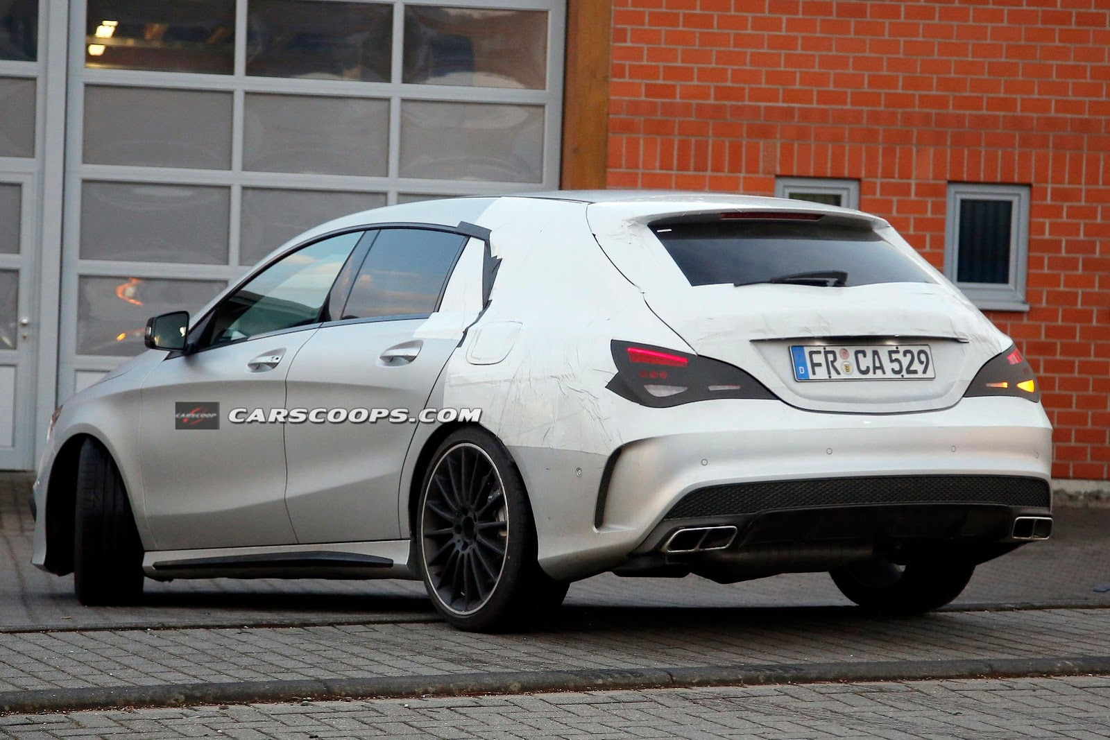 Mercedes Cla 45 Amg Shooting Brake 8