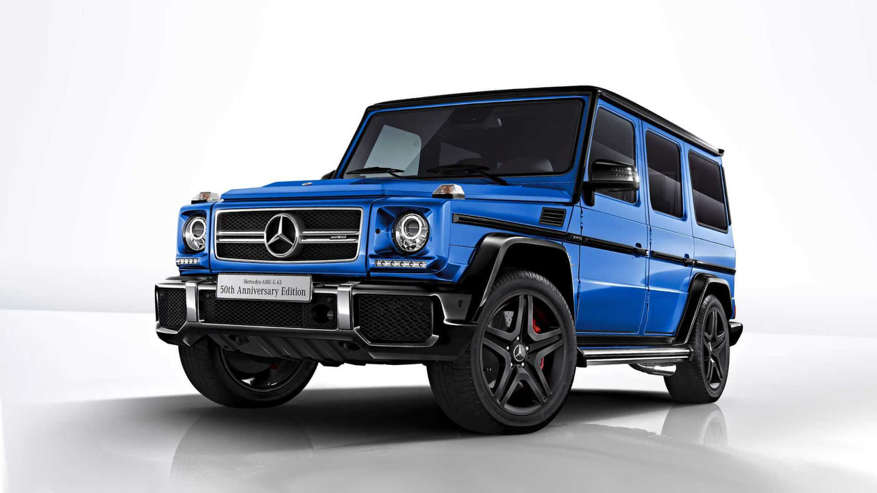 5 Things About The Mercedes AMG G63 50th Anniversary Edition