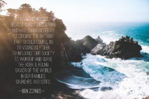 ben zornes - blogpost May 2016