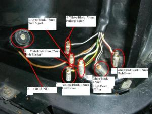 560SL Headlight Plug Does anyone know the wiring layout?  Page 5  MercedesBenz Forum