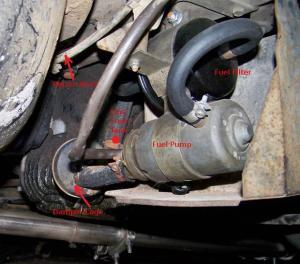 1972 350SL450SL Fuel Pump Assembly  Page 2  MercedesBenz Forum