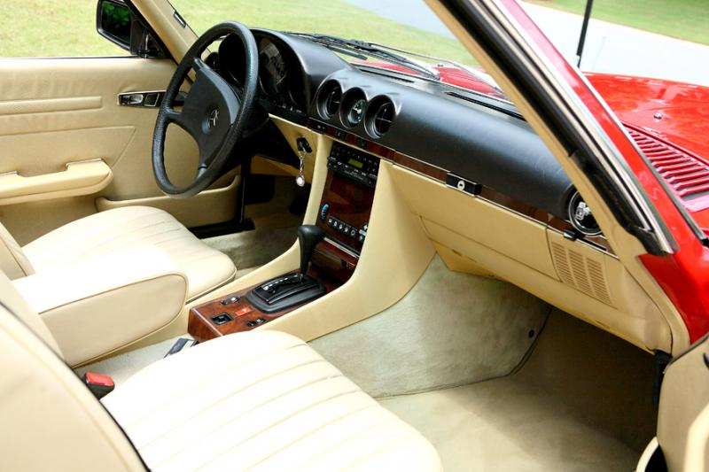 380SL Interior Leather Color And Oh Did I Search