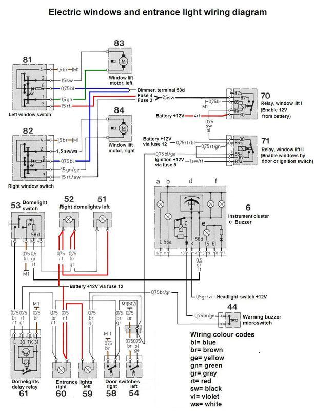 Mercedes Benz 560sl Wiring Diagrams