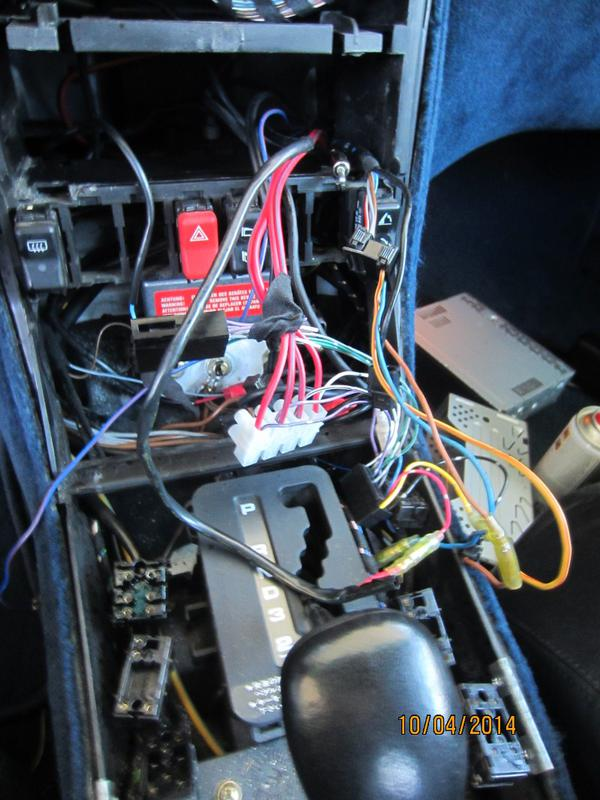500sl Wiring For Radio
