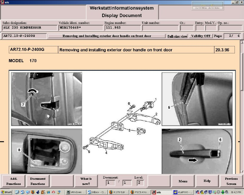 Door Panel And Locklatch Assy Removal Mercedes Benz Forum