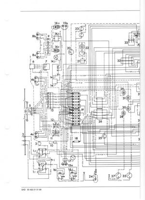 Wiring diagram or color breakdown 1970 406  MercedesBenz
