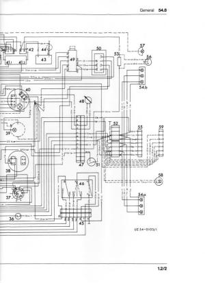 Wiring diagram or color breakdown 1970 406  MercedesBenz