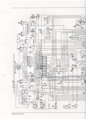 Wiring diagram or color breakdown 1970 406  MercedesBenz