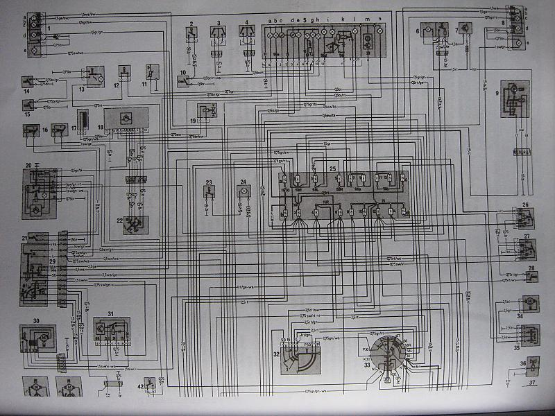 Electrical Diagram For 79 240d