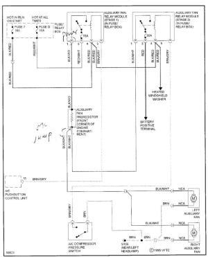 Mercedes Cooling Fan Wiring Diagram | Wiring Diagram