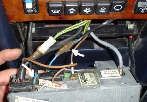 1984 500SEL Power Antenna Wiring with Becker 611 HU