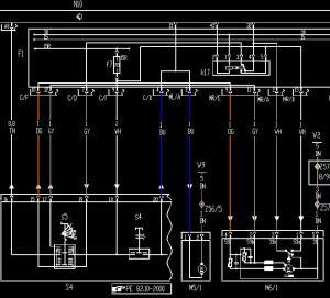 wiper motor wiring schematic  MercedesBenz Forum