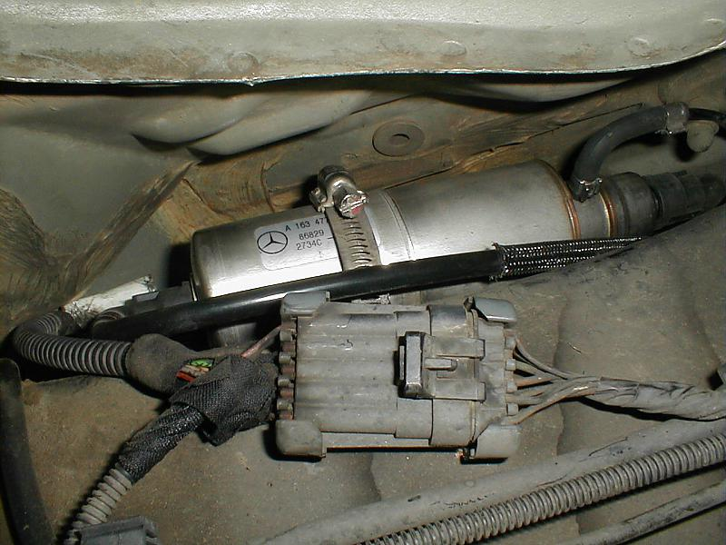 Looking For Diy Fuel Filter Change On 99 Ml320