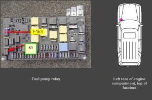 02 ml320 fuel pump wiring stalled no start  MercedesBenz
