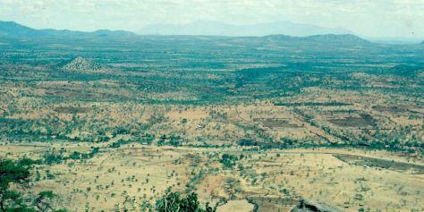 Landschaft vor der Restauration