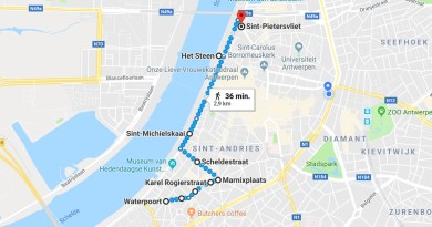 Parcours Antwerp Pride