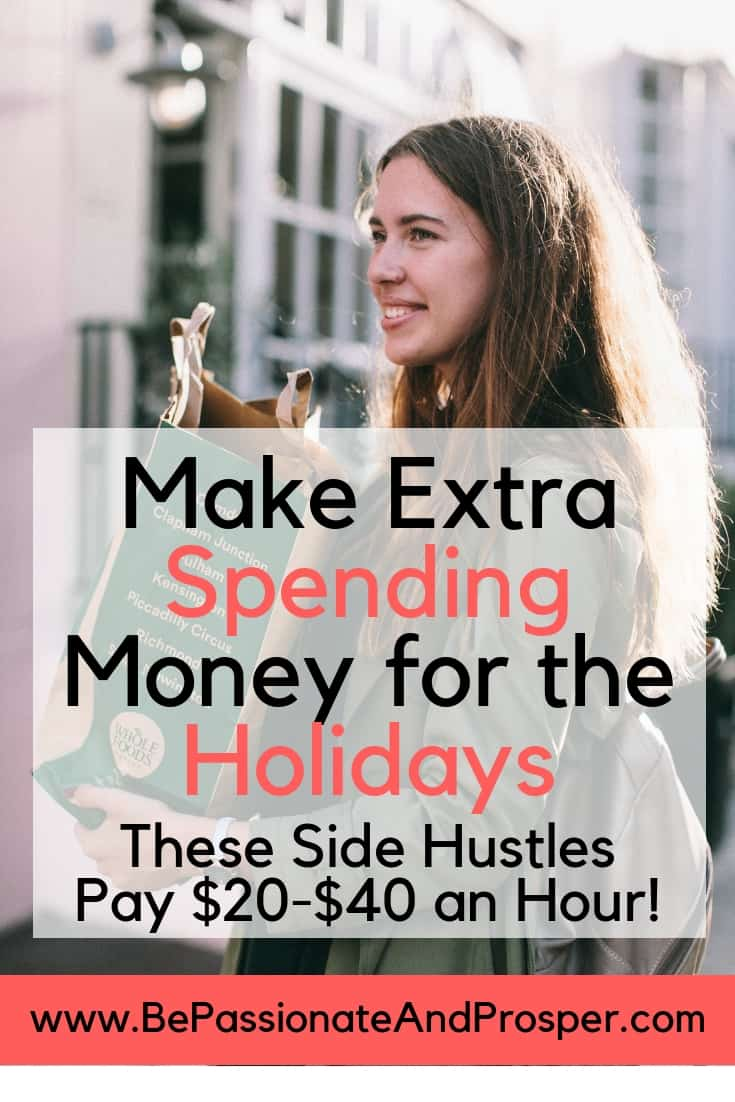 Make Extra Spending Money for the Holidays- Jobs That Pay $20 to $40 an Hour