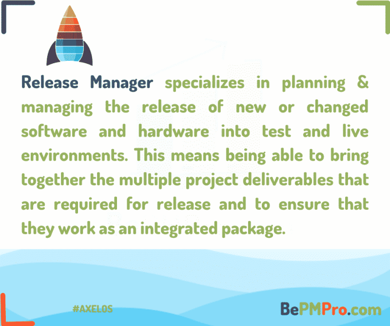 Release Manager specializes