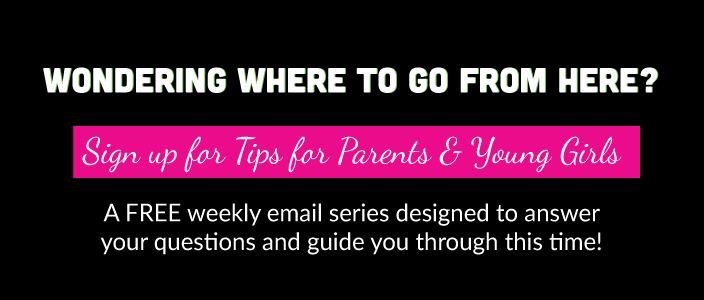 Tips for Parents and Young Girls on Puberty and Periods