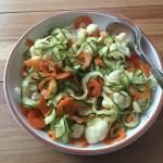 Snelle en vegetarische bami