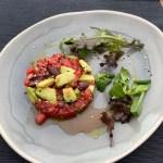 Salade met geroosterde groenten en halloumikaas