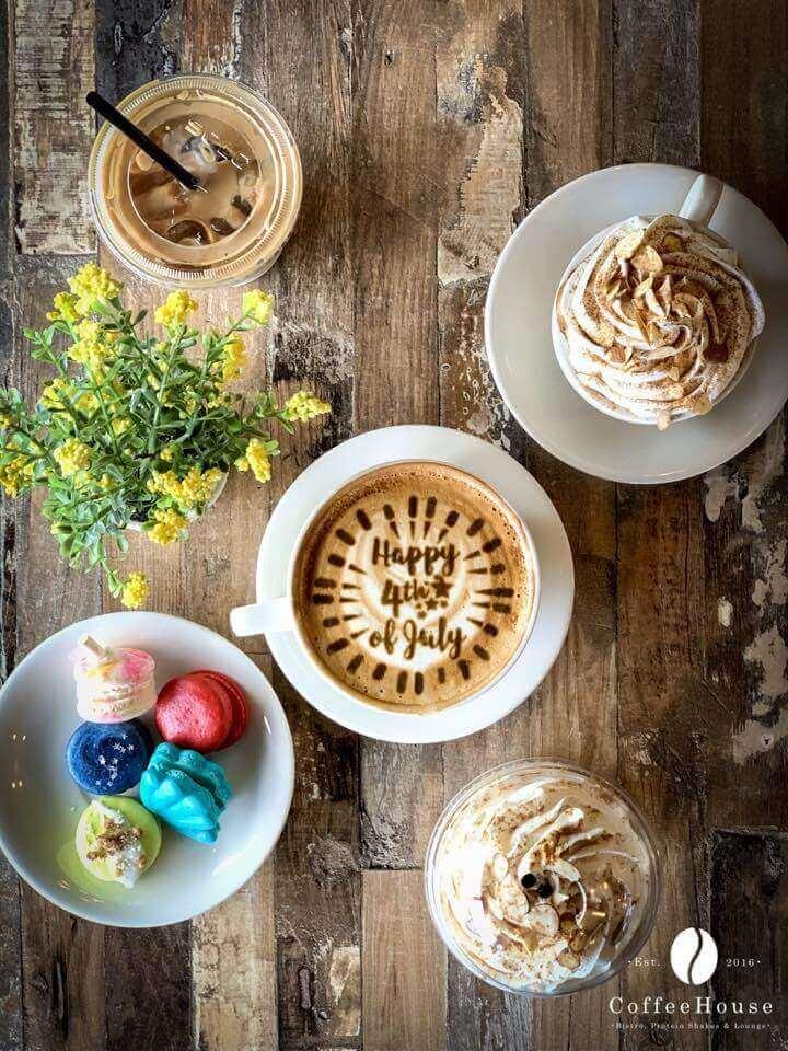 coffee with food printer