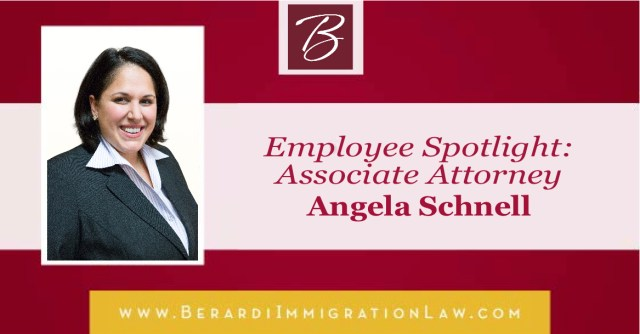 Employee Spotlight Angela Schnell