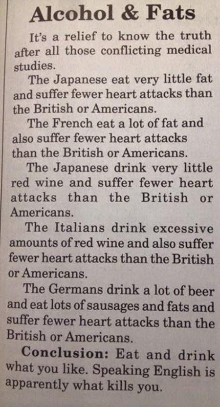 alcool grassi dieta