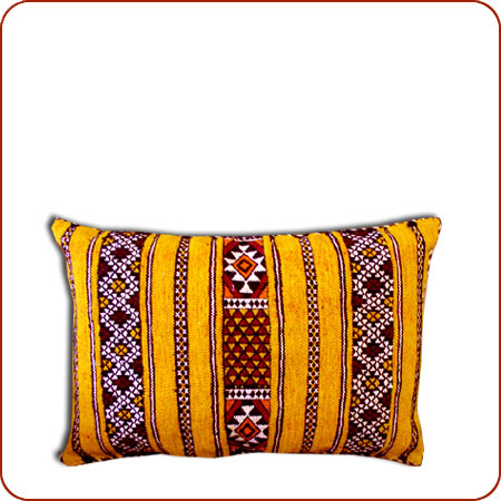 A Berber pillow from berbertrading.com