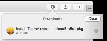 TeamViewer, Safari2