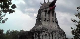 Gereja Misterius di Bukit Rhema Borobudur