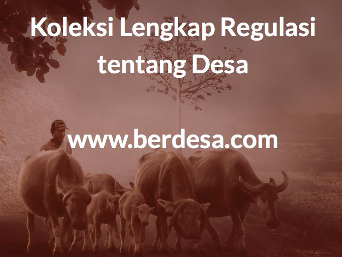 Koleksi Regulasi Desa untuk Usaha Desa