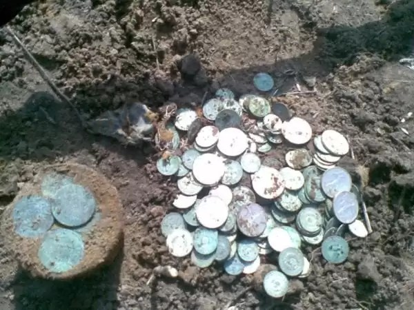 В Израиле найден 900-летний клад, спрятанный от крестоносцев