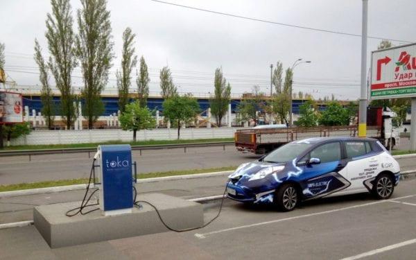 Станции зарядки электромобилей в Украине: Бердичев ждут перемены