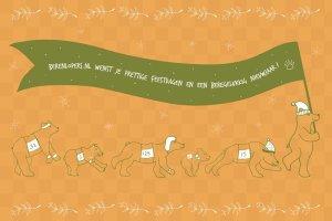 Prettige Feestdagen en Beregelukkig Nieuwjaar van Berenlopers.nl