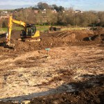 Bere_Regis_Primary_School_construction_photograph_February_2016_5_Main_site_excavation