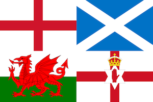 The Four Countries of the United Kingdom