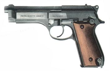 Beretta 92 premier modèle (Image Beretta).