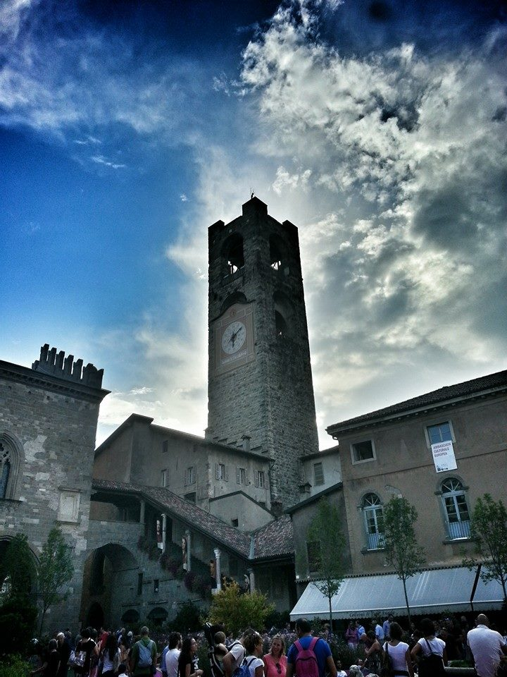 torre civica, campanone