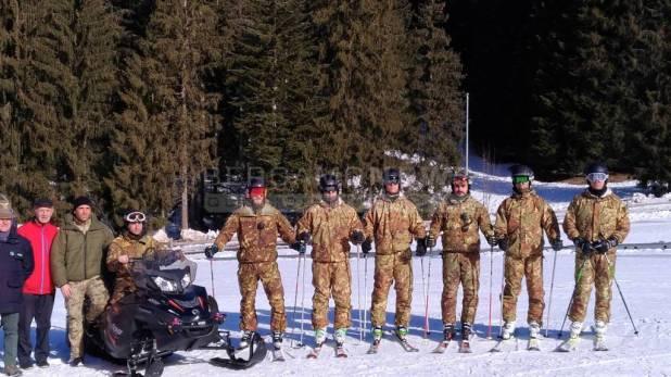 Gromo, per aiutare gli sciatori in difficoltà ci sono gli Alpini