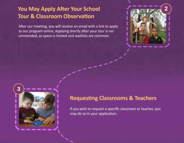 Tips for Applying to Bergamo Montessori Schools