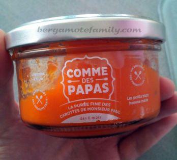 comme des papas carotte - bergamote family