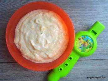purée froide pomme de terre saumon - bergamote family