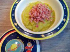 Jambon et sa purée de patate douce blanche, courgette et pointe de curry - bergamote family (7)