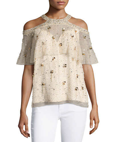 Womens Popover Top