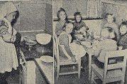 Da drømmen ble virkelighet. Bergens Tidende 09.11.1953. Fotograf ukjent. Arkivet etter Gyldenpris daghjem, Bergen Byarkiv.