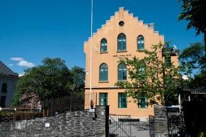 I 1737 ble Kristi Krybbe skoler grunnlagt som Korskirkens fattigskole. Den er dermed Norges eldste eksisterende grunnskole. Fotograf: Katarina Lunde. Seksjon informasjon, Bergen kommune.
